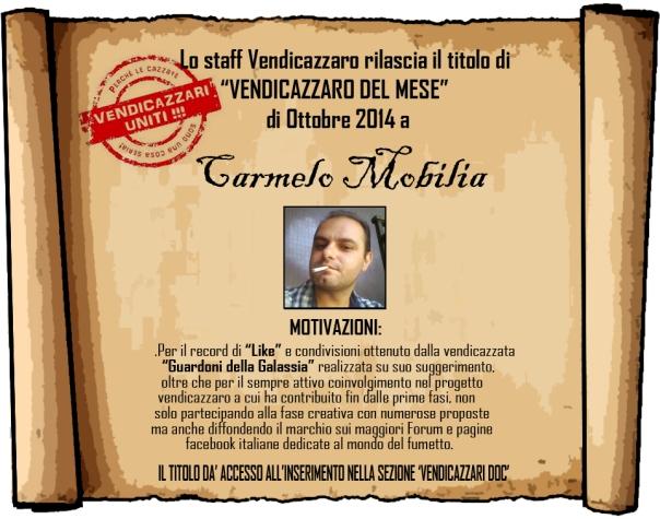 Carmelo Mobilia vendicazzaro del mese
