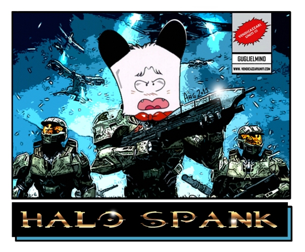Halo Spank