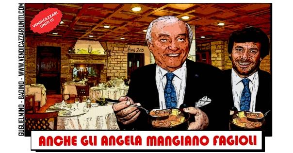 Anche gli Angela mangiano fagioli