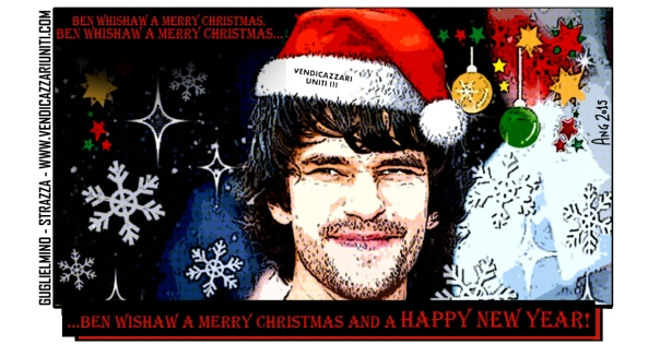 Ben Wishaw a Merry Christmas