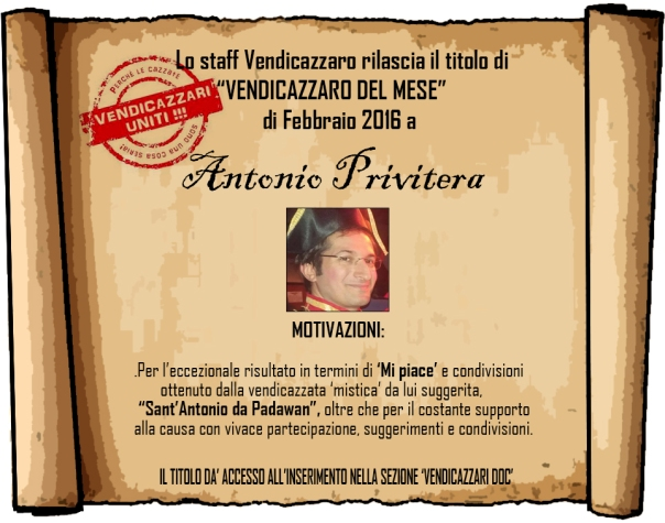 Antonio vendicazzaro