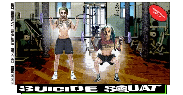 Suicide Squat