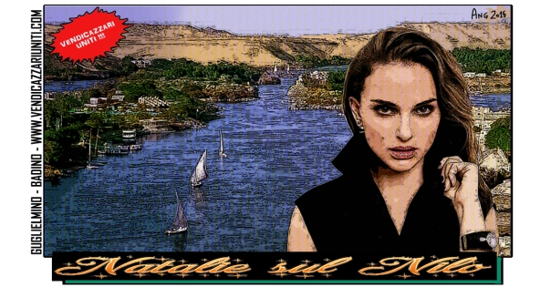 Natalie sul Nilo