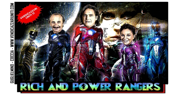 Rich and Power Rangers