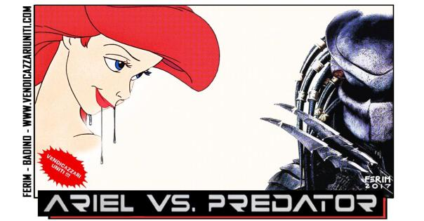 Ariel Vs. Predator
