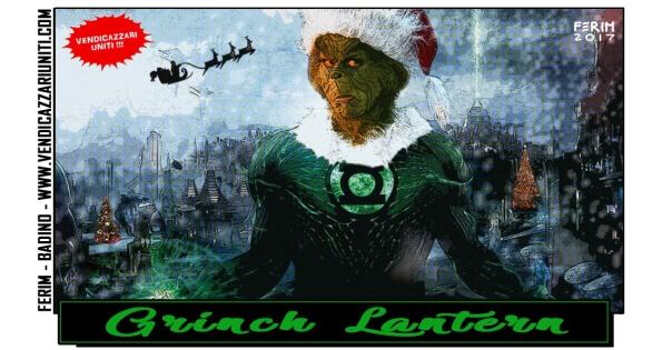 Grinch Lantern