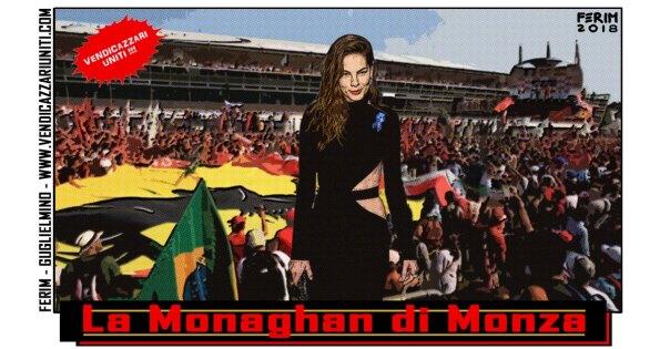 La Monaghan di Monza