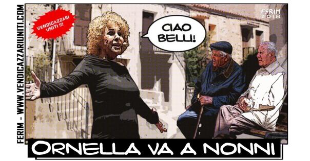 ornella va a nonni