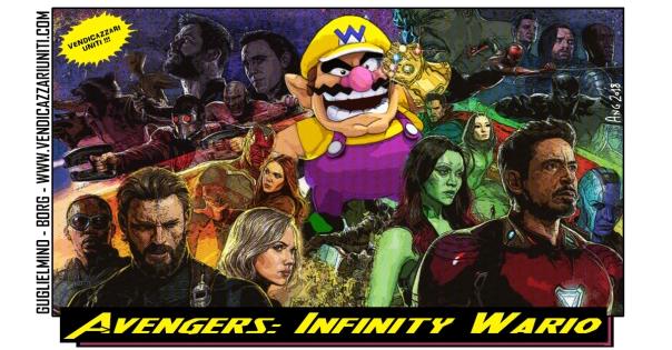 Avengers Infinity Wario