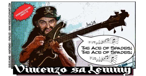 Vincenzo sa Lemmy