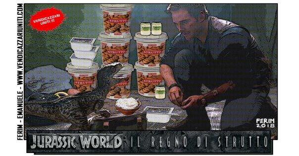 Jurassic World - Il regno di strutto