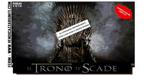 Il trono ti scade