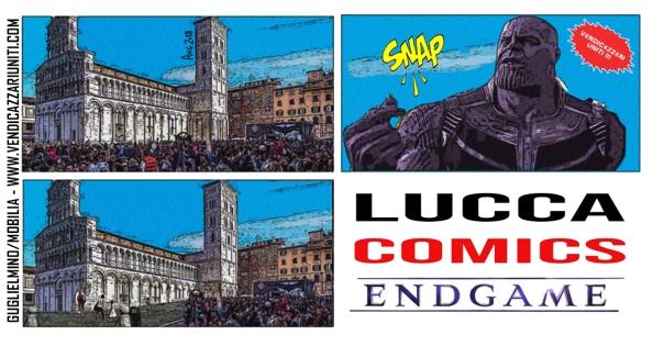 Lucca Comics Endgame